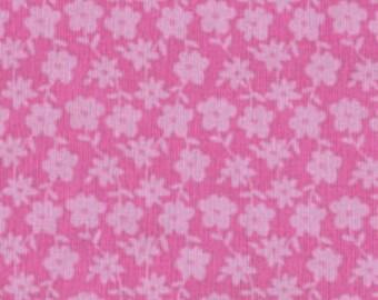SALE - Fabric 1/2 yard - Freespirit small floral print Hallmark Girl cute tonal quilt