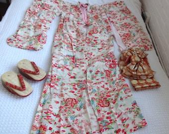 1920s Kimono Set from Takashimaya Tokyo