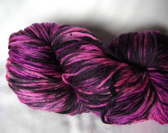 Superwash Merino Light Worsted Jumbo Skein 425 Yards - Quite Pink, Yes