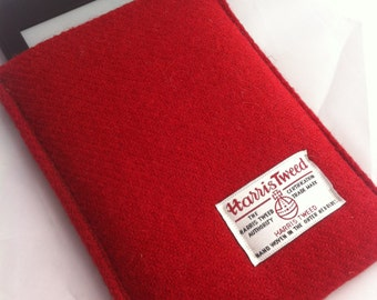 Harris tweed e-reader tablet kindle cover case sleeve made in Scotland