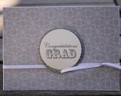Graduation card, High School Graduation, College Graduation-Congrats Grad