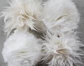 Feather Flower Tutorials, PDF Tutorials , DIY Home Decor