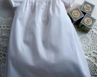 Baby Breath - Size 5 - 11lbs - Seamless Smocked Bishop Nightie Pattern -Judith Marquis