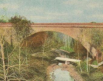 Cabin John Bridge Near Washington DC Unused Vintage Postcard Union Arch Bridge