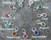 Birthstone Add - On, Swarovski Crystal Birthstone, Add A Birthstone, Birthstone Jewelry, Birthstone Charm, Bohemian Jewelry