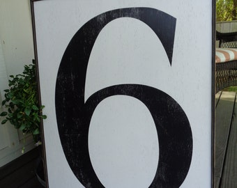 Fixer Upper Signs,  Case Letter,24x32, Letter Sign, Alphabet Signs, Large Framed Letters, Number Signs