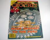Vintage DECORATIVE CROCHET Pattern Book - Jan. 1994 - # 37 - Irish Crochet - Filet Crochet - Runners - Patchwork and More