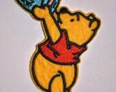 Instalment 3 : Pink Minky Winnie Pooh Patch Onesie CUSTOM