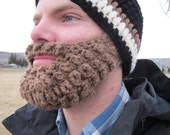 Adult ULTIMATE Bearded Beanie Black/Cafe Mix