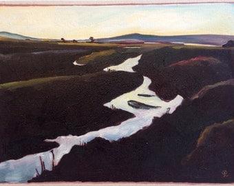 Limantour Dusk I - Original Painting