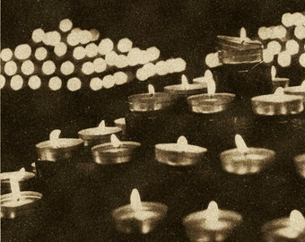 Fine art photography - Candles - Sepia
