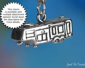 Fifth Wheel Trailer Charm Sterling Silver Camper Vacation Travel .925