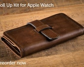 SECONDS - Roll Up Kit for Apple Watch - Chocolate Brown