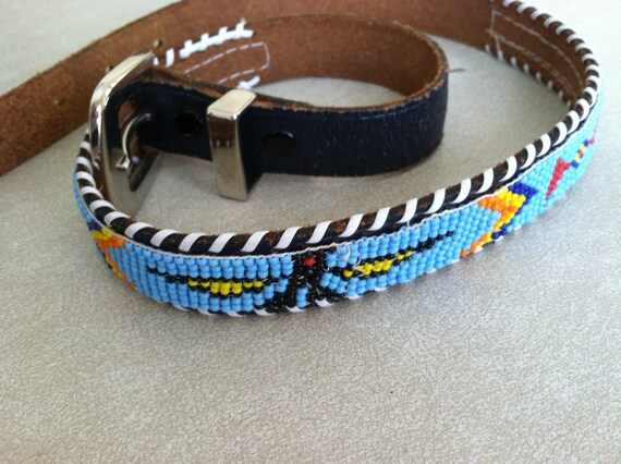 vintage beaded american belt by thenorthcottage on etsy
