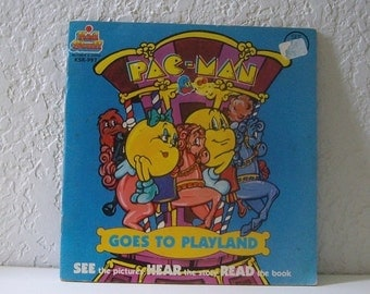 Book and Record: PAC-MAN Goes to Playland, See the Picture, Hear the Story and Read the Book with record