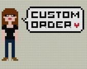 Custom PATTERN for REBECCA