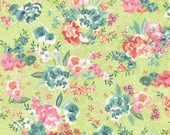 Fresh Cut - Peony District in Celery by Basic Grey for Moda Fabrics
