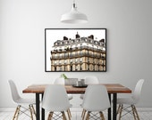 PARIS Architecture Photography, Paris Apartment Photo, APPARTEMENT a Paris, Paris Print, Parisian Building Photo, Paris Architecture Photo