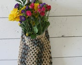 Farmers Market Bag - Reusable Cotton Grocery Tote - Owl in a Tree