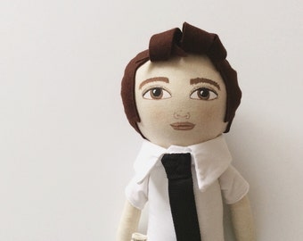 Eric a handpainted doll