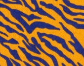 Fabric Finders Purple and Gold Tiger Stripe