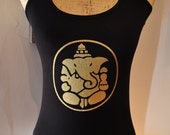 Yoga T-Shirt with Ganesha