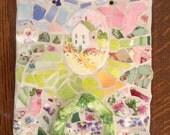 Mosaic House Scene PATH TO HOME