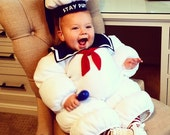 Ghostbusters Stay Puft inspired Costumes. Many Sizes