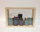City Skyline Shadow Box (large)