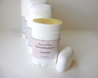 Jasmine Deodorant, Deoderant Stick, Natural Corn Free Formula