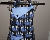 Doctor Who TARDIS Phone Booth Women's Apron