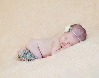 Newborn Baby Photo Prop Leg Warmers, custom colors available