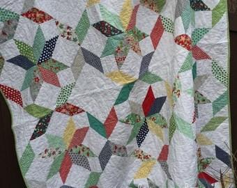 CUSTOM Fresh Bed Quilt (69x92)