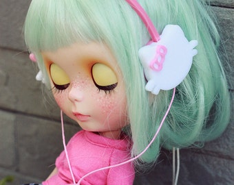 Blythe Cat headphone
