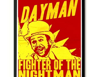Dayman Wall Art Poster Print (Always Sunny In Philadelphia)