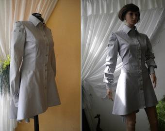 Unusual ladies shirt - tunic - dress