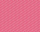 Christmas Fabric by the Yard Candy Cane Fabric in Red Sugar Rush Josephine Kimberling Fabric Christmas Fabric One Yard
