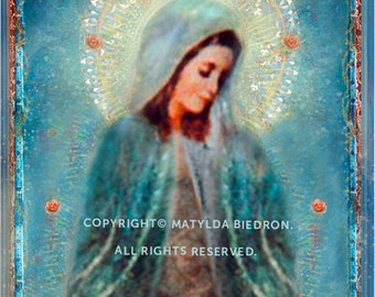 Holy Mother Memorare Card