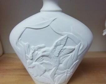 Small Humming Bird vase PT-1330 ceramic