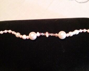 Pink Fresh Water Pearl Bracelet