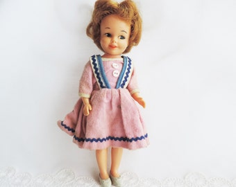 Penny Brite Vintage 60's Doll in Original Dress and Shoes Adorable Blond Hair by Deluxe Reading Company Elizabeth NJ