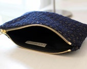 DUDE Pouch - Navy and Gold