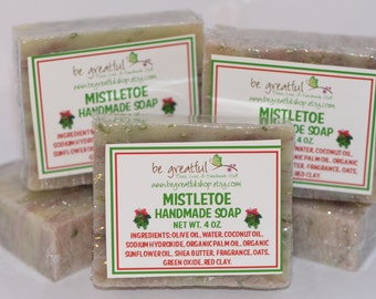 Mistletoe Vegan Soap