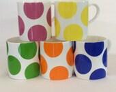 Large Spot Mugs