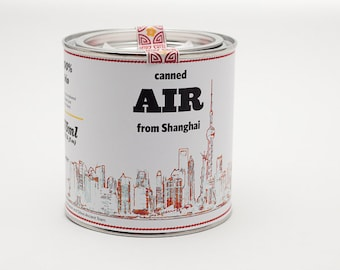 Original Canned Air From Shanghai, gag souvenir, gift, memorabilia