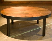 Gorgeous Iron & Wood Reclaimed' Lake Superior' Table.