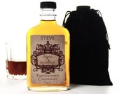 Personalized Groomsmen Flask, Will You Be My Groomsman, 200ml Custom Flask and Label