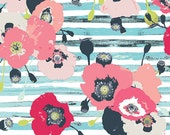 Paparounes in Pastel  sk44600 - SKOPELOS by Katarina Roccella - Art Gallery Fabric  - By the Yard
