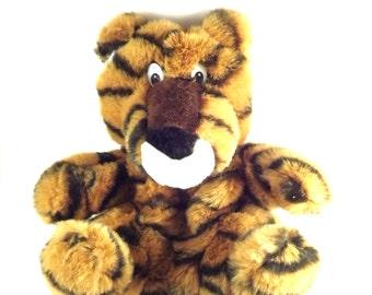 Tiger Golf Club Cover, Vintage Driver Wood Club Headcover, Fun Animal Golf Gag Gift, Clemson, Auburn Sports Tiger