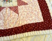 Babies Quilt, Country Cottage
